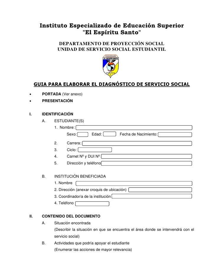 Formatos Del Servicio Social 1 | apexwallpapers.com