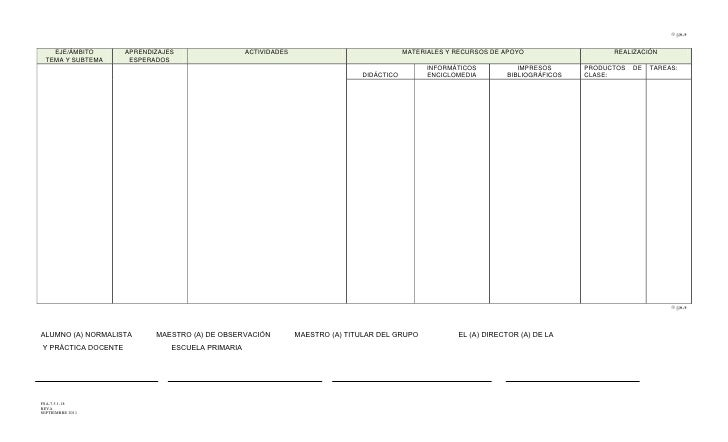 Formato Plan De Clases - newhairstylesformen2014.com