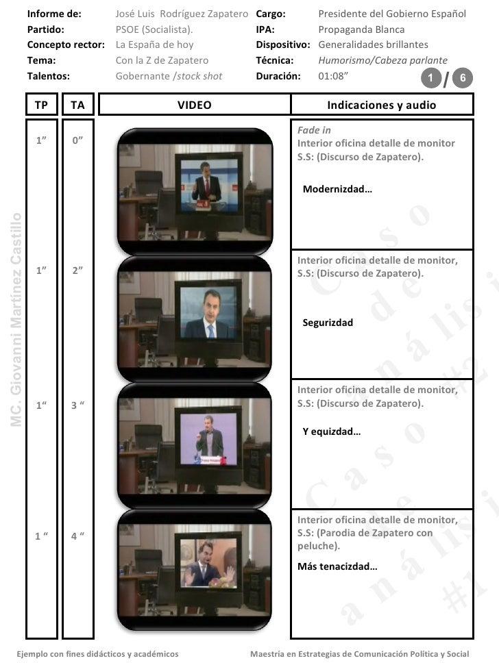 "0"" 1"" Fade in  Interior oficina detalle de monitor S.S: (Discurso de Zapatero).  2"" 1"" 3 "" 1"" 4 "" 1 "" Modernizdad… Seguriz..."