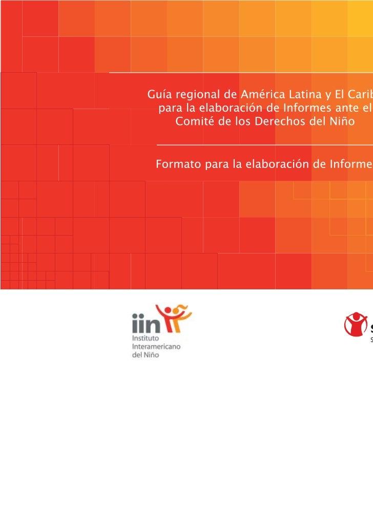 Formato Para La Elaboración de Informes Ante El CDN