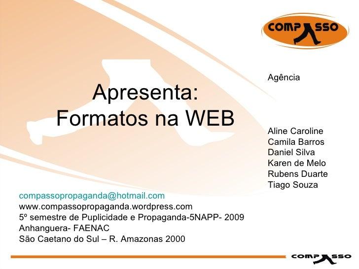 Formatos Da Web