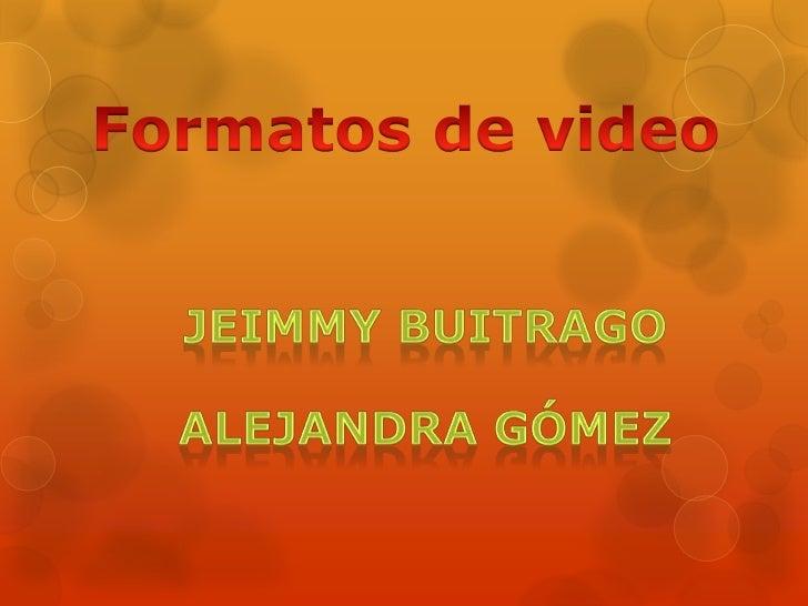 normas para                             audio y vídeo                             para difusión                           ...