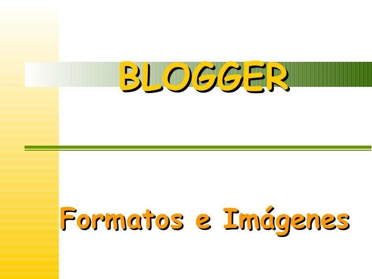 Formatos e Imagenes