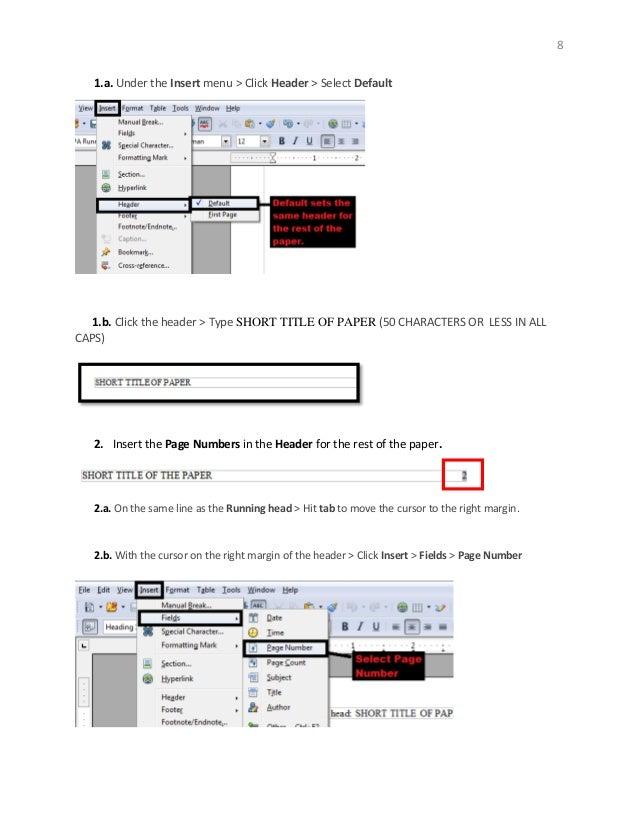 HELP PLEASE! With OpenOffice? Headers?
