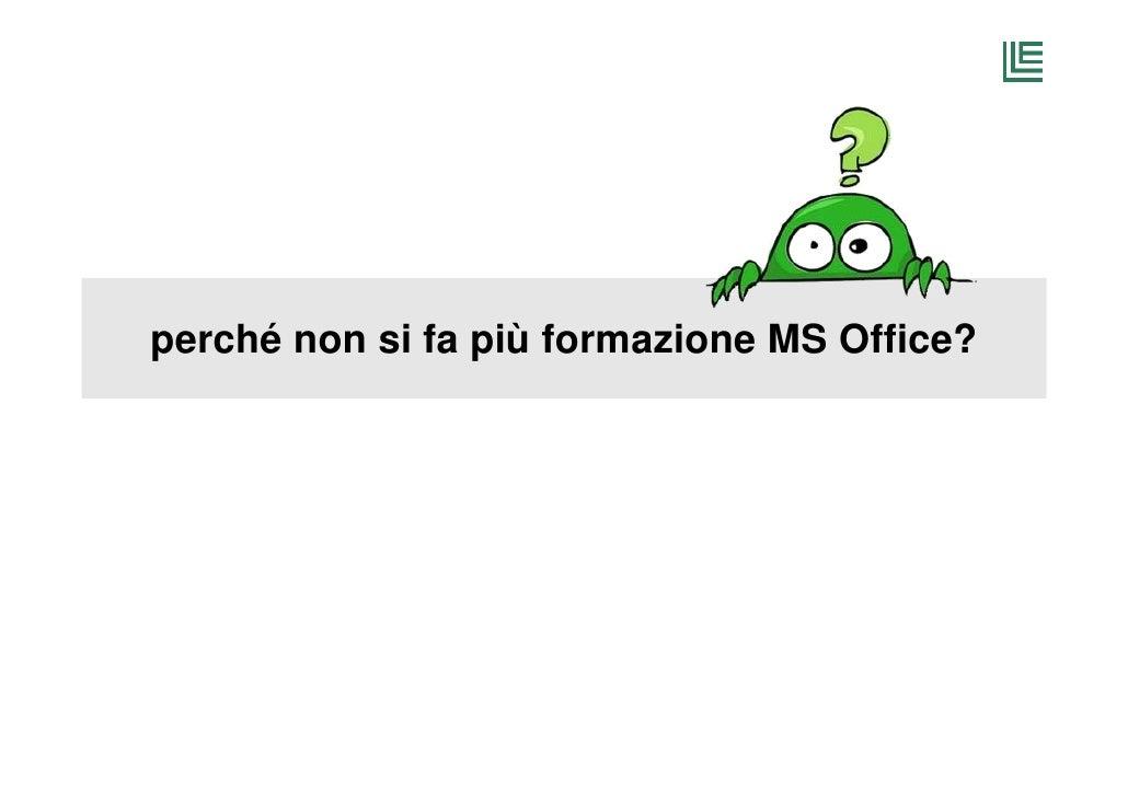 Formazione office2