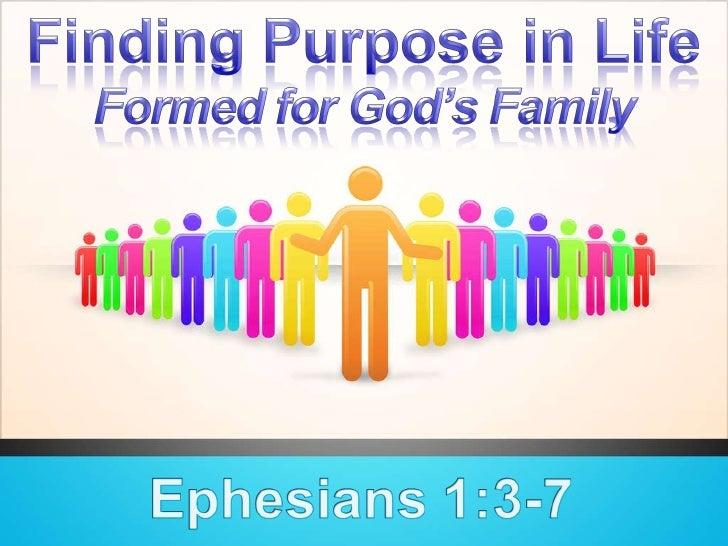 Formed For  God S  Family