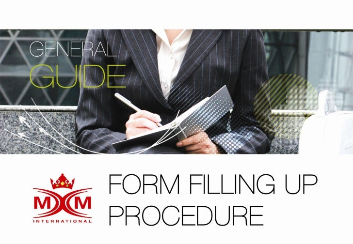 Form filling up procedure (060611)