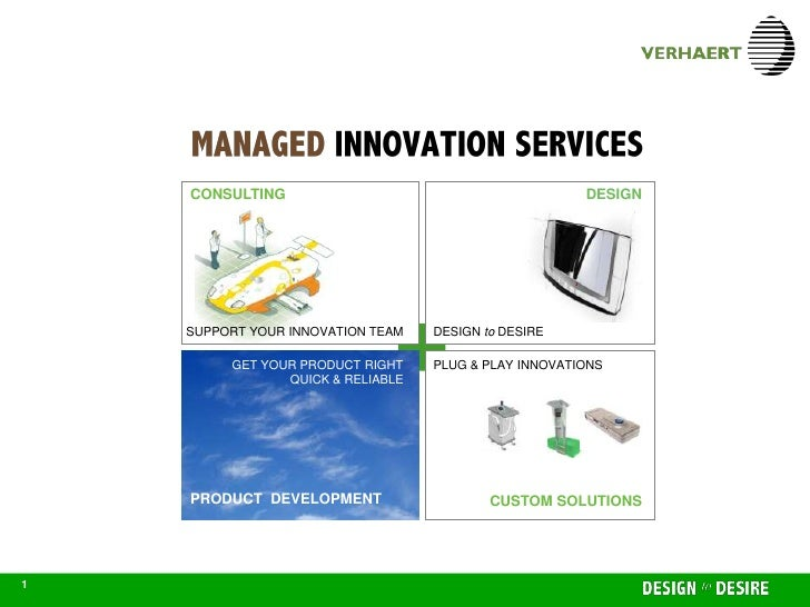 MANAGED INNOVATION SERVICES                           CONSULTING                                            DESIGN        ...