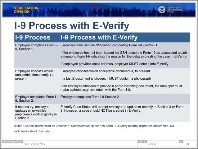Form I 9 Compliance Amp E Verify Webinar