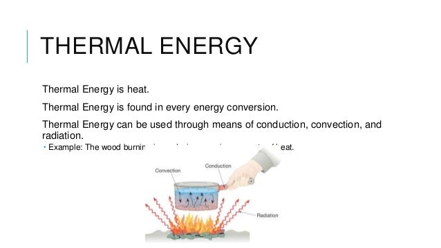 thermal energy thermal energy is heat thermal energy is found