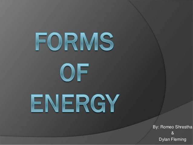 Forms of energy_2013