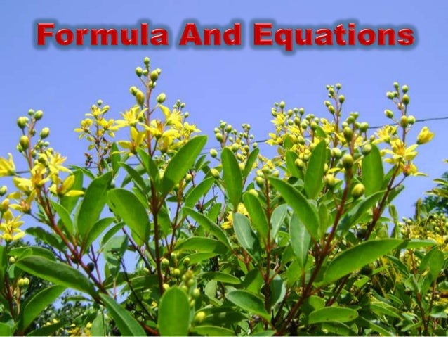 Formula and equations dr.surendran prambadath
