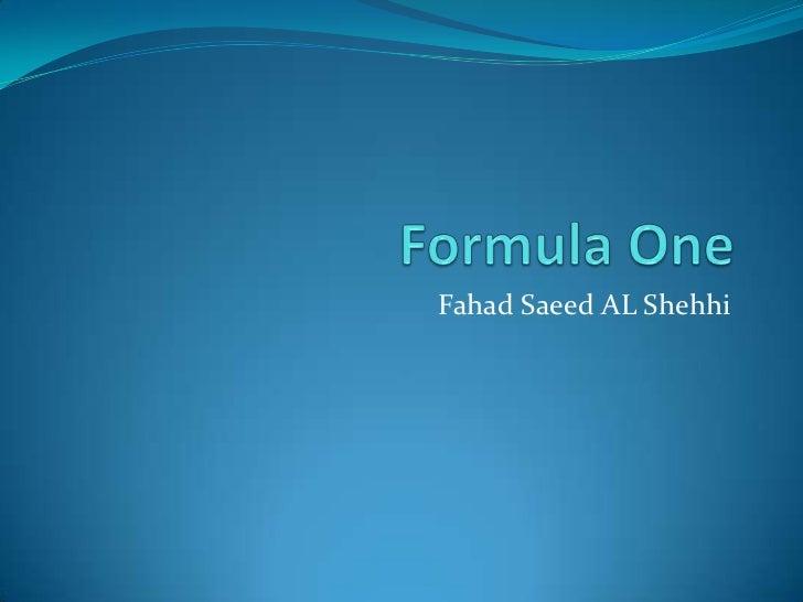 Fahad Saeed AL Shehhi