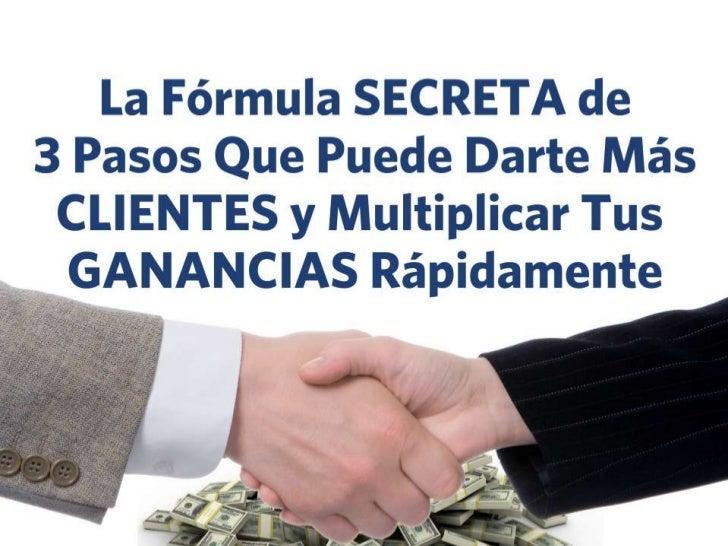 Formula Secreta de Atraer Más Clientes; Marketing Local