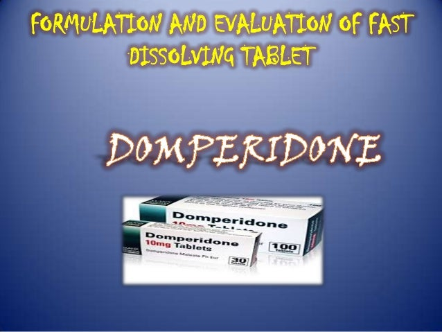 FORMULATION AND EVALUATION OF FAST DISSOLVING TABLET