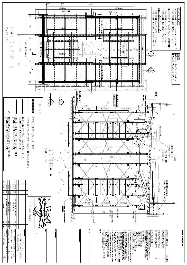 Formwork drawings 1