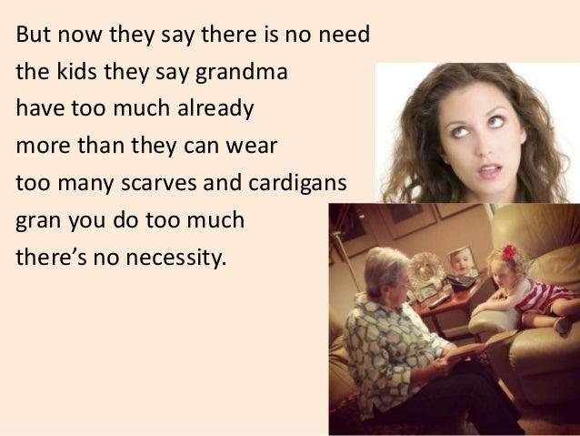 Essay my grandmother