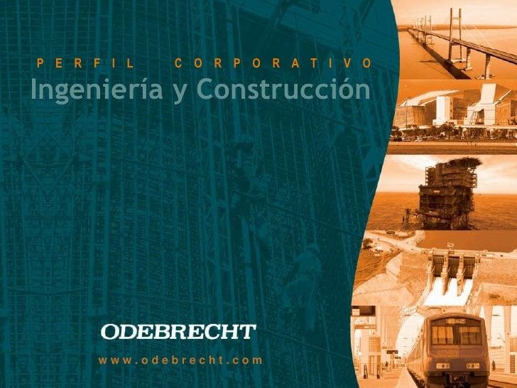 Presentación ODEBRECHT - Foro 08-09-10