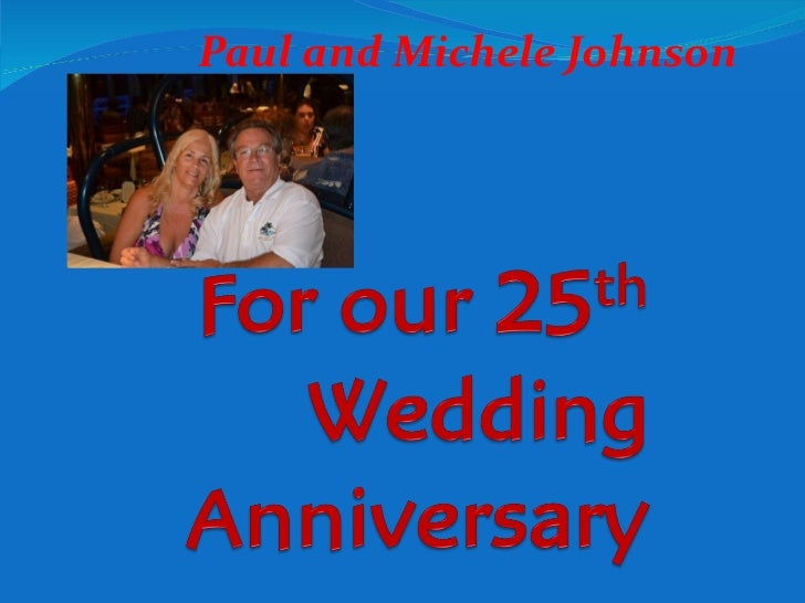For our 25th wedding anniversary carnival splendor trip to for Wedding anniversary trip ideas