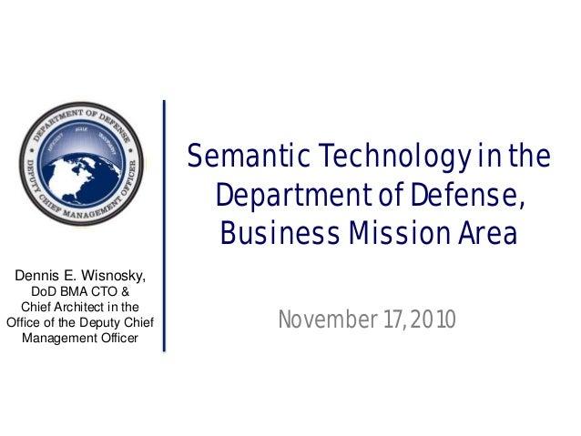 Dennis Wisnowsky Presentation