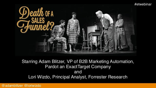 #etwebinar!                                                   consideration           Starring Adam Blitzer, VP of B2B Mar...