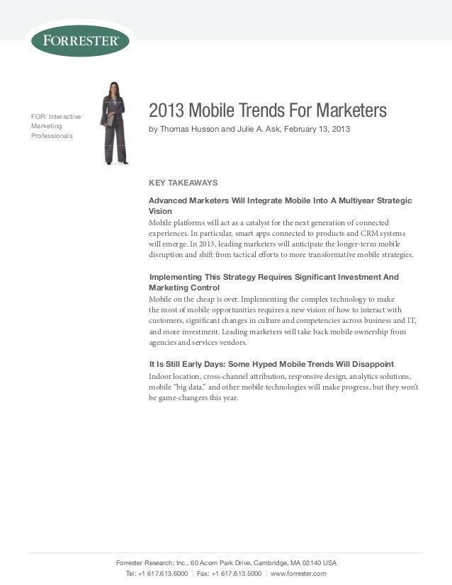 Forrester 2013 mobile_trends_for_marketers