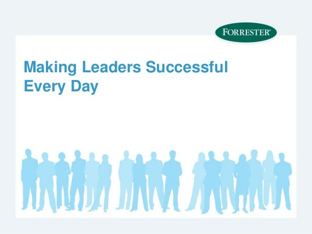 Forrester research report