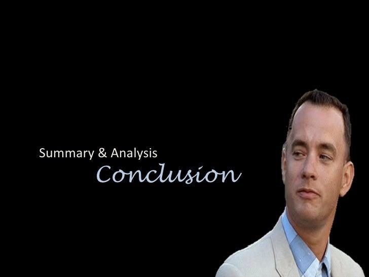 Forrest gump summary essay