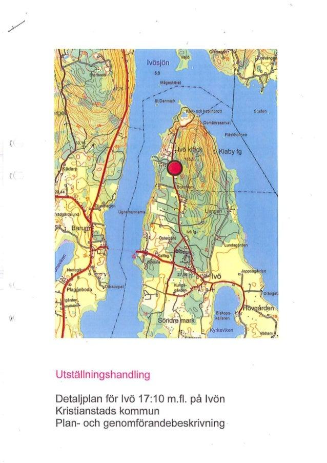 Præsentation af onrådet ved Ivö søen
