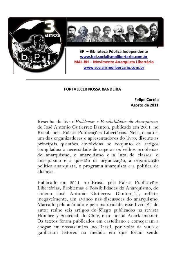 Fortalecer nossa Bandeira - Felipe Corrêa
