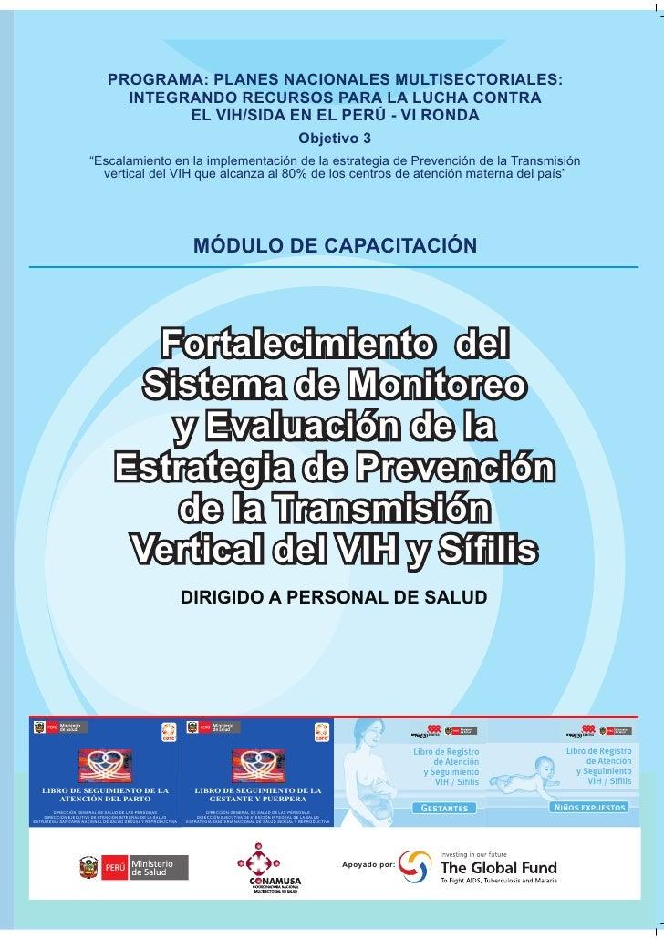 Fortalecimiento Del Sistema De Monitoreo Y Evaluacin