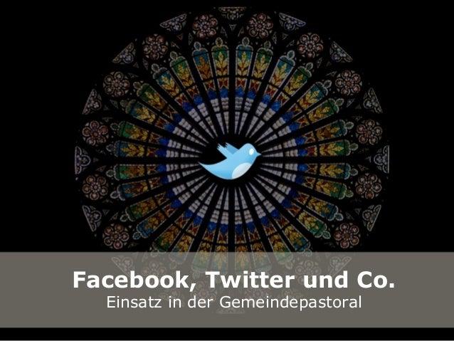 """Fortbildung """"Facebook, Twitter und Co."""" für Gemeindetreferentinnen und -referenten"""