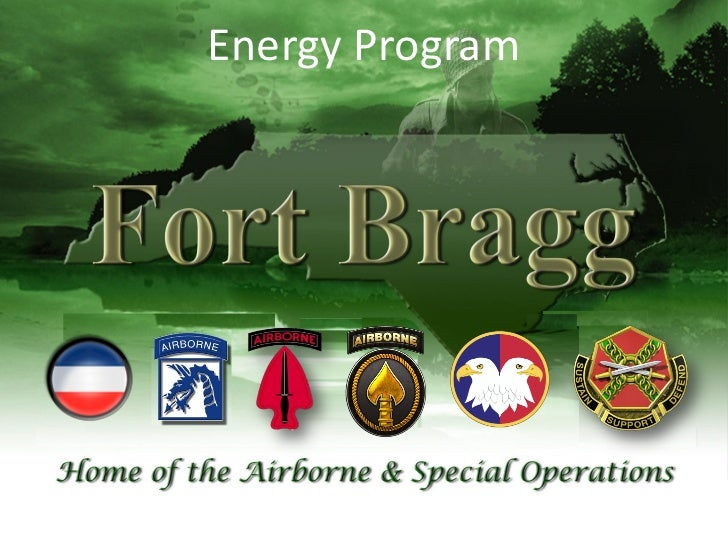 Fort Bragg Energy Briefing