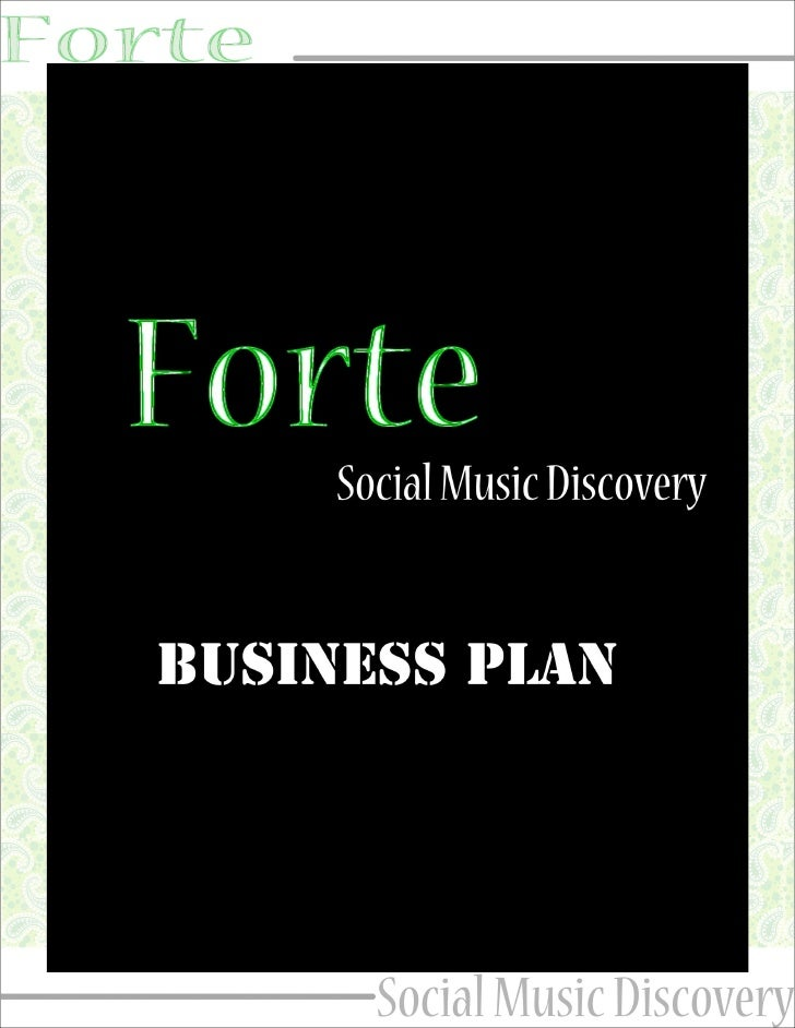 Forte Business Plan