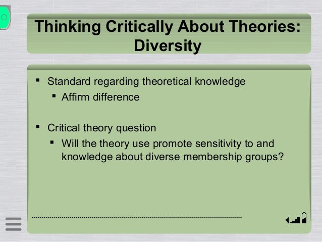 critical thinking for social work 2008