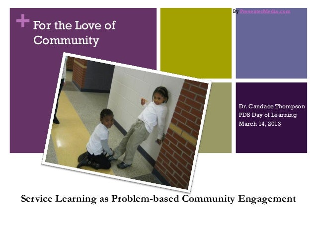 For the love of community 3 14 13