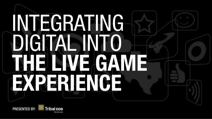 For the love of the game - Integrating interactive media into the live-sports experience