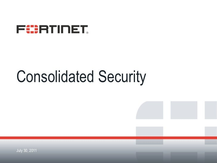 Consolidated Security<br />