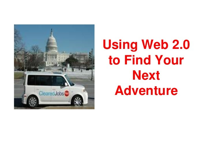 Using Web 2.0 to Find Your Next Adventure<br />