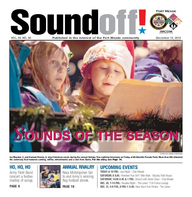 Fort meade soundoff dec. 13