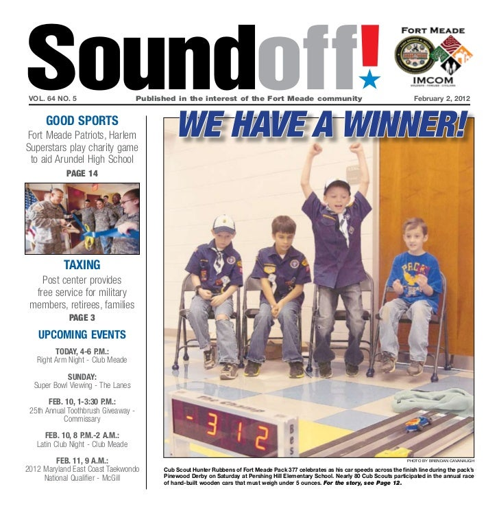Soundoff! vol. 64 no. 5                       Published in the interest of the Fort Meade community                       ...