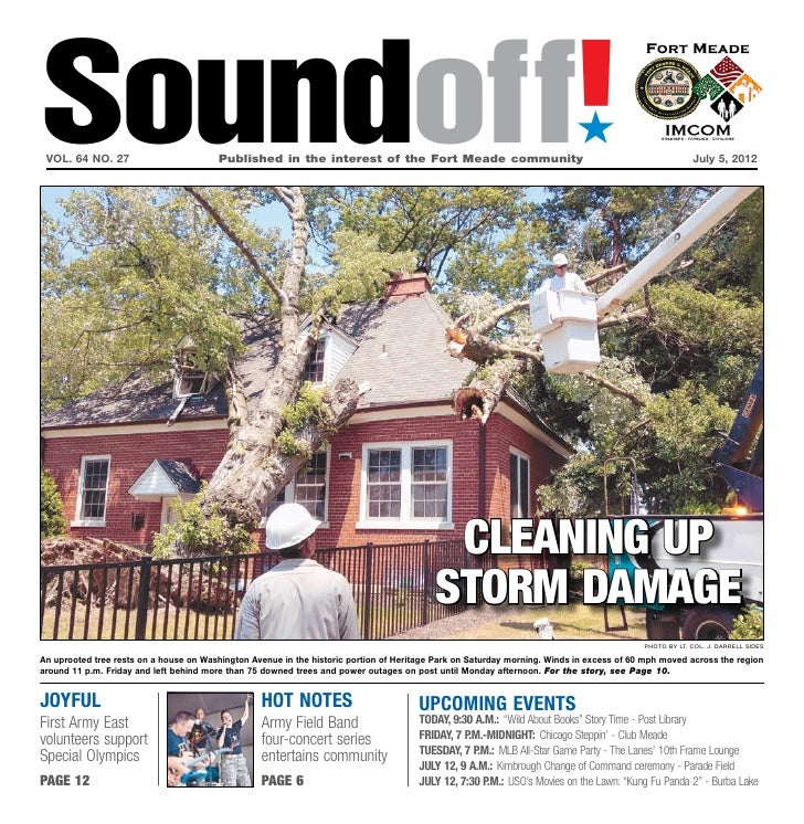 Soundoff! vol. 64 no. 27	                         Published in the interest of the Fort Meade community	                  ...