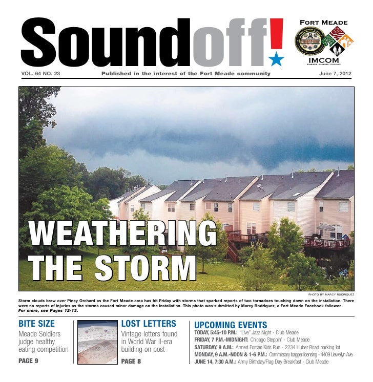 Soundoff! vol. 64 no. 23	                        Published in the interest of the Fort Meade community	                   ...