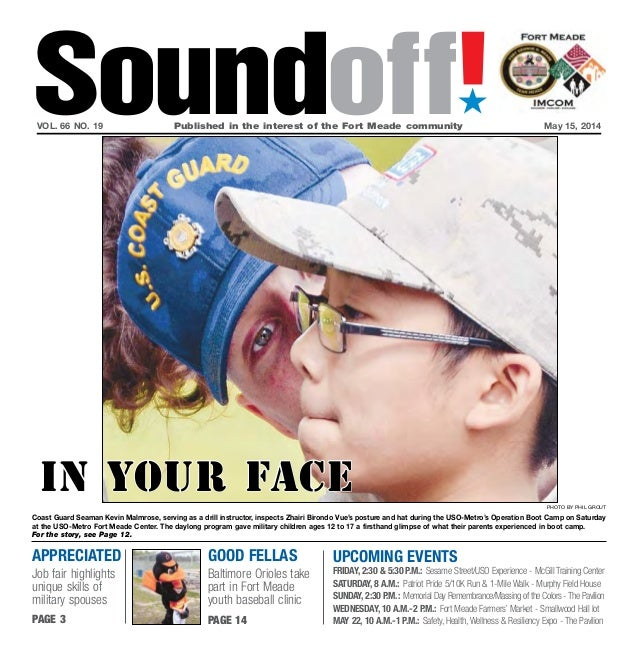 Fort meade sound off may 15, 2014