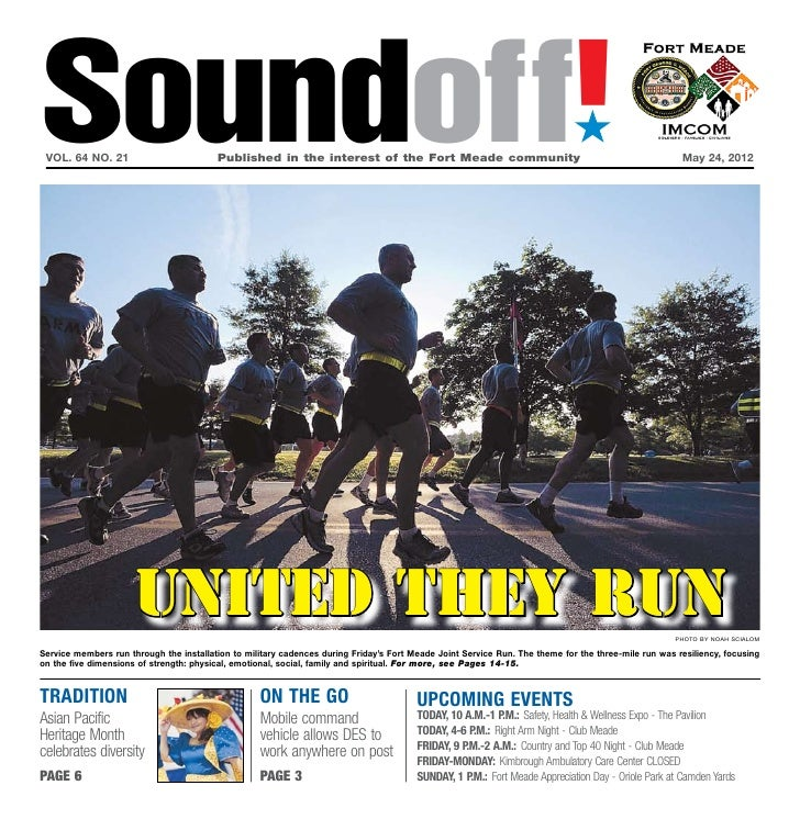 Soundoff! vol. 64 no. 21	                         Published in the interest of the Fort Meade community	                  ...