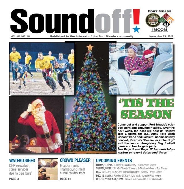 Fort Meade Soundoff Nov. 29, 2012