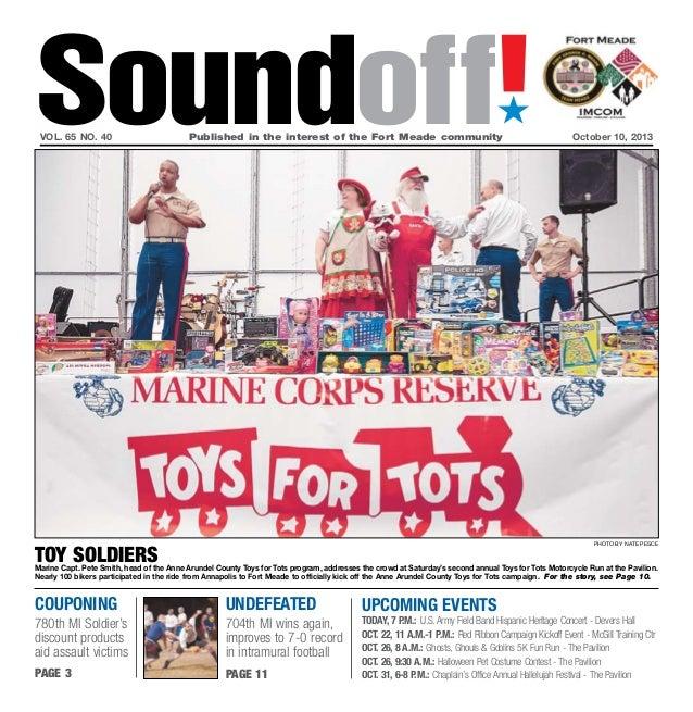 Fort Meade Soundoff,  October 10, 2013