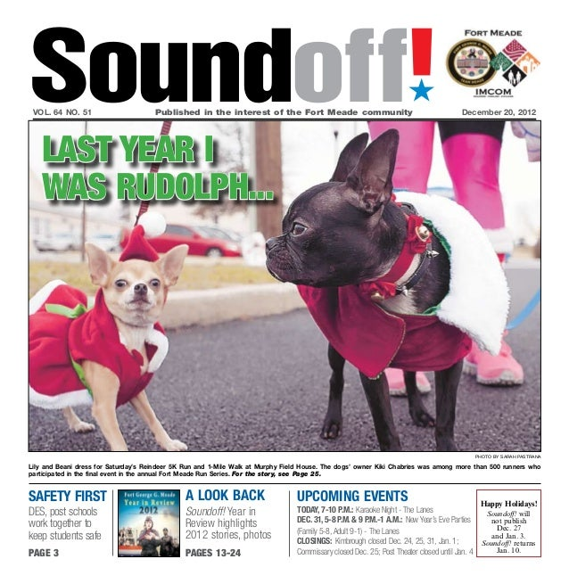 Soundoff! vol. 64 no. 51                      Published in the interest of the Fort Meade community                     ...
