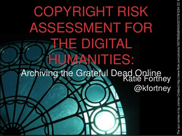 Copyright Risk Assessment for Special Collections