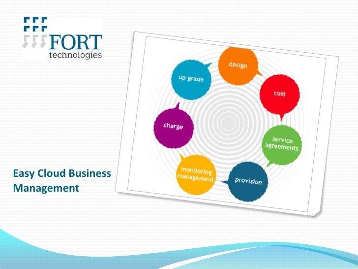 Easy Cloud BusinessManagement